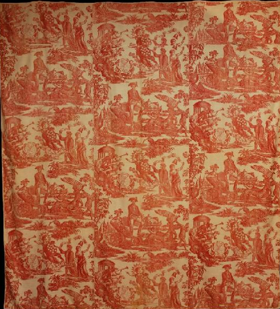 toile bedcover