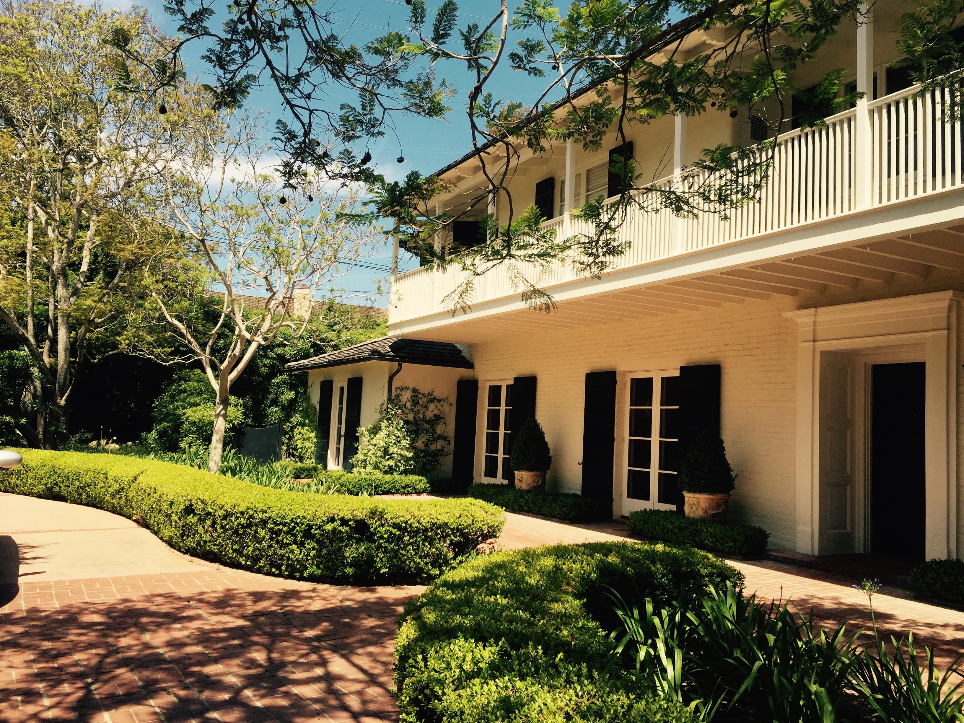 Garden update on the Monterey Colonial in Montecito!