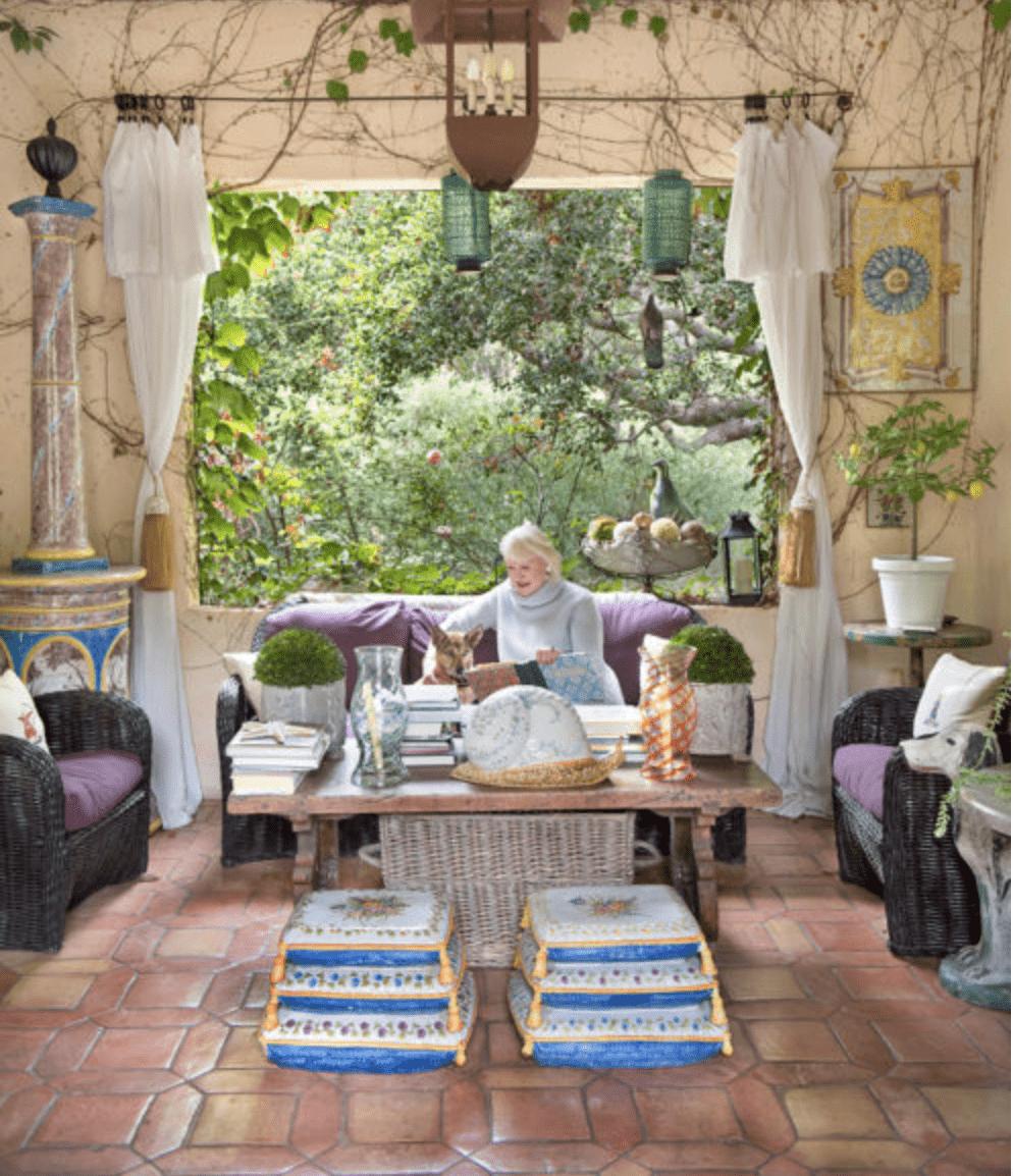 Montecito Gardens:  Our house featured in Santa Barbara Seasons magazine!!!