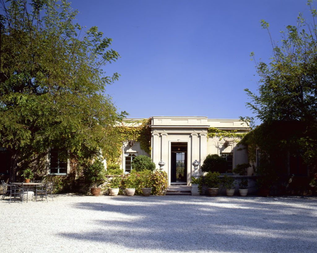 image of a home styled in the French Regency style