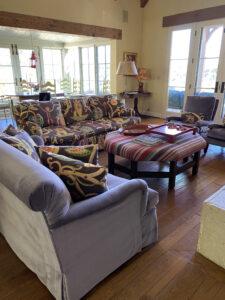 Pasadena French Farmhouse living room