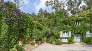outdoor shot of French Farmhouse Montecito
