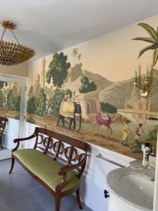 bath of the Santa Monica Spanish Revival property